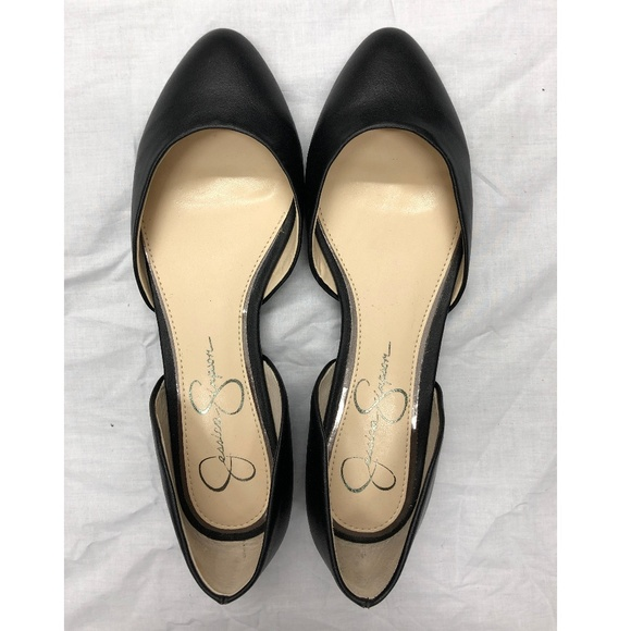 Jessica Simpson Shoes - Black Rounded Toe Flat
